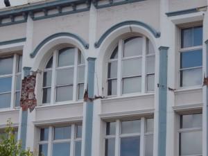 Earthquake damage in Christchurch CBD