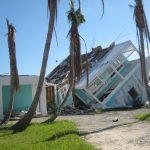 Hurricane in the Bahamas