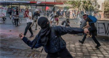 riots in Chile